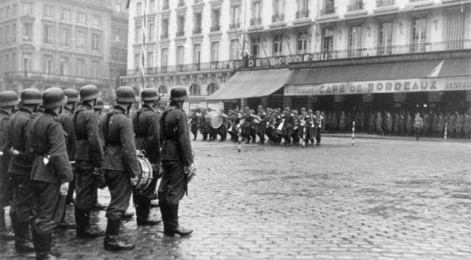 Bordeaux, Platzkonzert der Wehrmacht