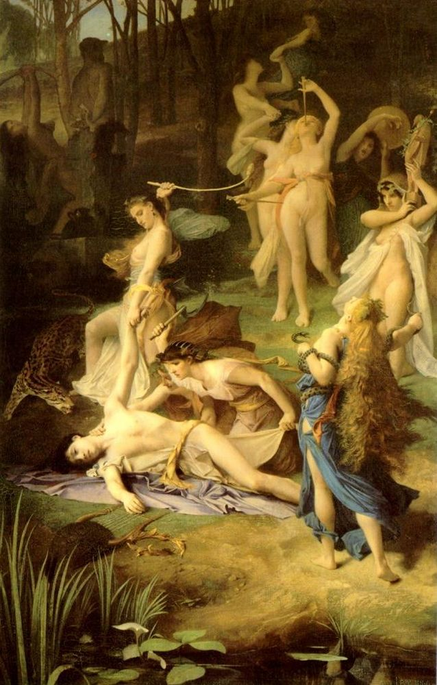 Emile Lévy, La mort d'Orphée, 1866, Paris, musée d'Orsay
